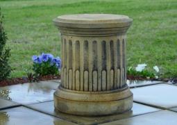 Limestone Sandstone Garden PedestalsPlinths Florentine